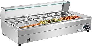 VEVOR Bain Marie électrique, Chauffe Plat, Plat-réchaud 9 casseroles, Parfait pour Conserver de délicieux Aliments à la te...