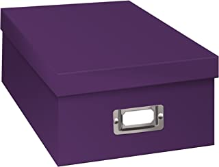 Pioneer Photo Albums B-1S/BP B-1S Photo Storage Box, Bright Purple