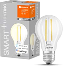 Ledvance Smart LED Lamp with WiFi Technology, Base: E27, Warm White (2700 K), 5.50 W, Replacement for 60 W Incandescent Bu...