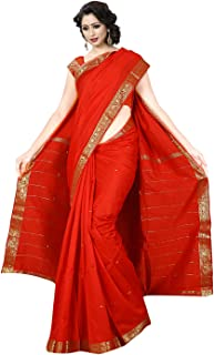 KoC Indian Traditional Banarasi Art Silk Saree Sari for Women wear Fabric Dress