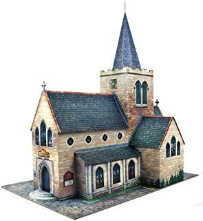 O gauge 7mm 1:48 scale Model Railroad Building CHURCH Kit The CityBuilder