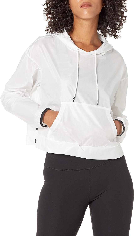 Core 10 Women's Standard Water-Resistant Patch Front Pocket Anorak Jacket