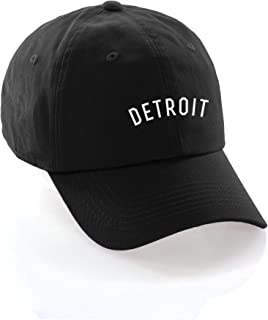 Daxton USA Cities Baseball Dad Hat Cap Cotton Unstructure Low Profile Strapback