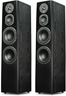 SVS Prime Tower Speaker (Black Ash Pair)