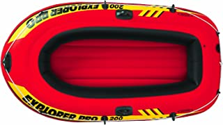 Intex Explorer Pro - 船 7 años to 99 años Without oars/inflator 137 x 85 x 23 cm 橙色