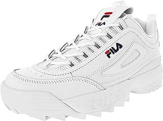 Fila Strada Disruptor - Scarpe da uomo, Bianco (Bianco multi), 46 EU