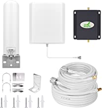 Cell Phone Signal Booster T-Mobile Metro PCS AWS AT&T 3G 4G LTE 1700Mhz Band 4 Mobile Phone Signal Booster Cellular Repeater Amplifier for Home Use Mingcoll