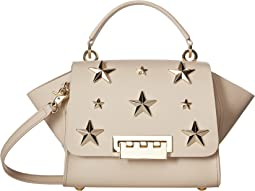 Eartha Iconic Top-Handle Crossbody with Star Stud
