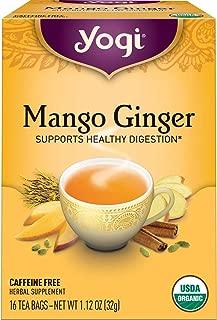 Yogi Tea - Mango Ginger - Supports Healthy Digestion - 4 Pack, 64 Tea Bags Total