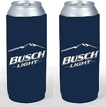 Beer Can or Bottle Beverage Holder Coolers - Coors, Miller, Budweiser More