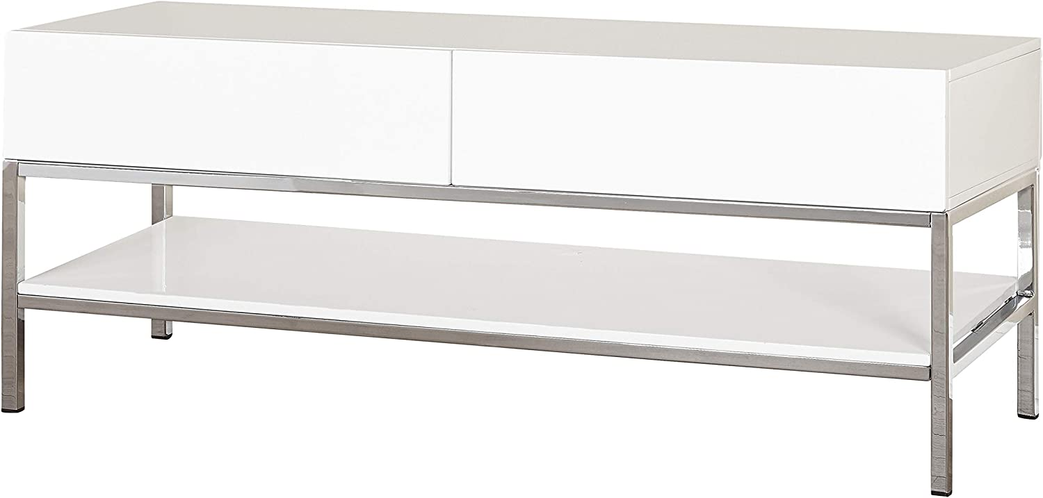 The Mezzanine Shoppe Lewis Modern 2 1 Shelf Cheap mail order sales T Room Living Drawer Complete Free Shipping