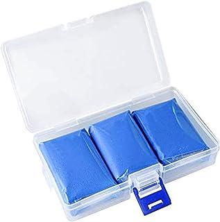 Fixget 3 STKS Auto Klei Bar, 3 x 100g Blauw Auto Detailing Magic Clay Bar Cleaner Perfect voor Uw Auto Reiniging (3 Stks)