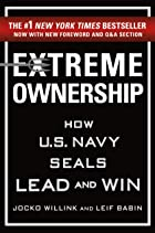 Cover image of Extreme Ownership by Jocko Willink & Leif Babin