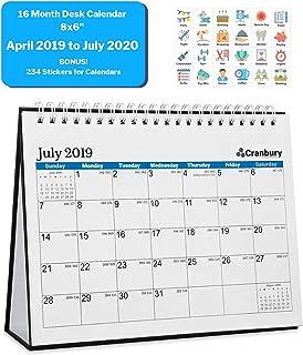 School Calendars 2020-16 Amazon.com: Cranbury   Desk Calendars / Desktop Calendars