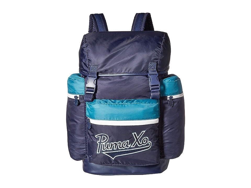 PUMA PUMA x XO Homage Backpack (Peacoat/Dragonfly/White) Backpack Bags