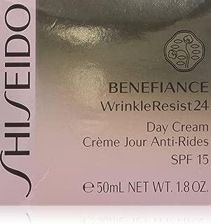 Shiseido Benefiance Wrinkleresist24 Day Cream SPF 15 for Unisex, 1.8 Ounce