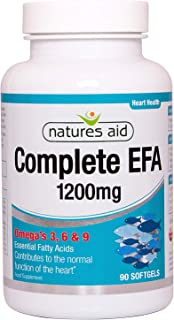Natures Aid Complete EFA (Essential Fatty Acids) Omega 3 6 + 9 90 Caps