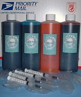 64oz 4 Pint / 16 Oz B/c/m/y Ink Kit Refill Any Printer