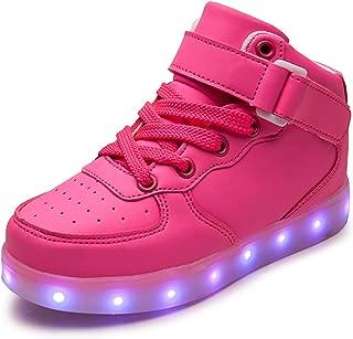 ONEYUAN Children Cute Cat Face and Footprint Kid Casual Lightweight Sport Shoes Sneakers Running Shoes
