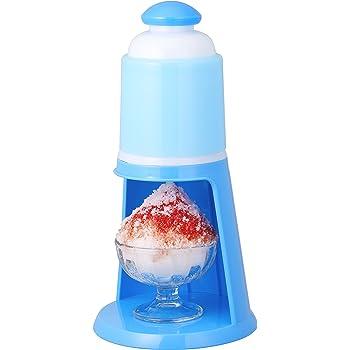 ドウシシャ 電動氷かき器 ブルー DIN-1652B
