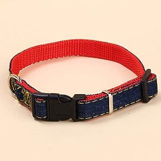 QMZ Guinzaglio per Cani da Cowboy con Cinturino al Petto Collare per guinzaglio per Cani Set di guinzagli per Cani