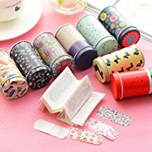 Eshylala (20 Pieces) Cartoon Waterproof Metal Band-aid,Cute Band Breathable Bandages Band Aid Sticker,Wound Adhesive Plaster