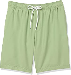 "Amazon Essentials Men's 9"" Quick-Dry Swimming Trunks"