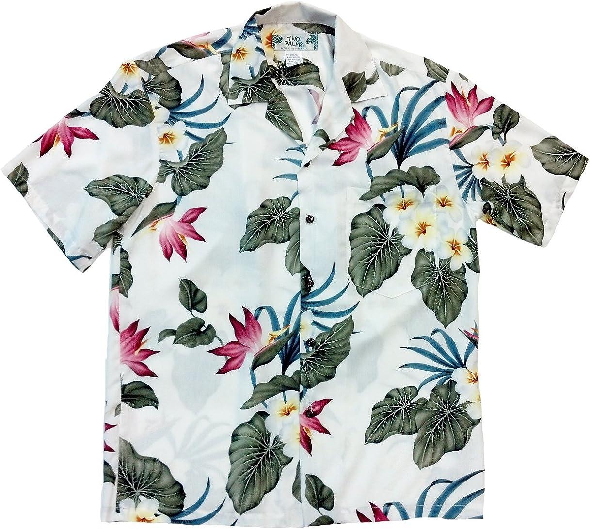 Two Palms Men's Retro Paradise Shirt