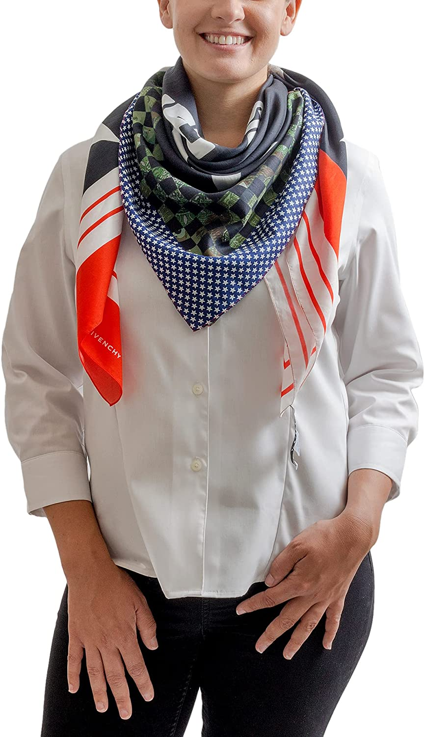 Givenchy 1212GV price SD266 1 Navy Womens for Scarf Ranking TOP13 Blue