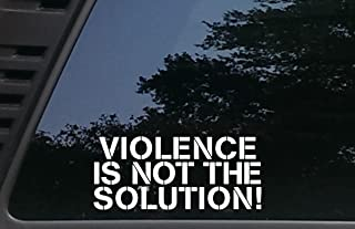 High Viz Inc Violence is NOT The Solution! - 8