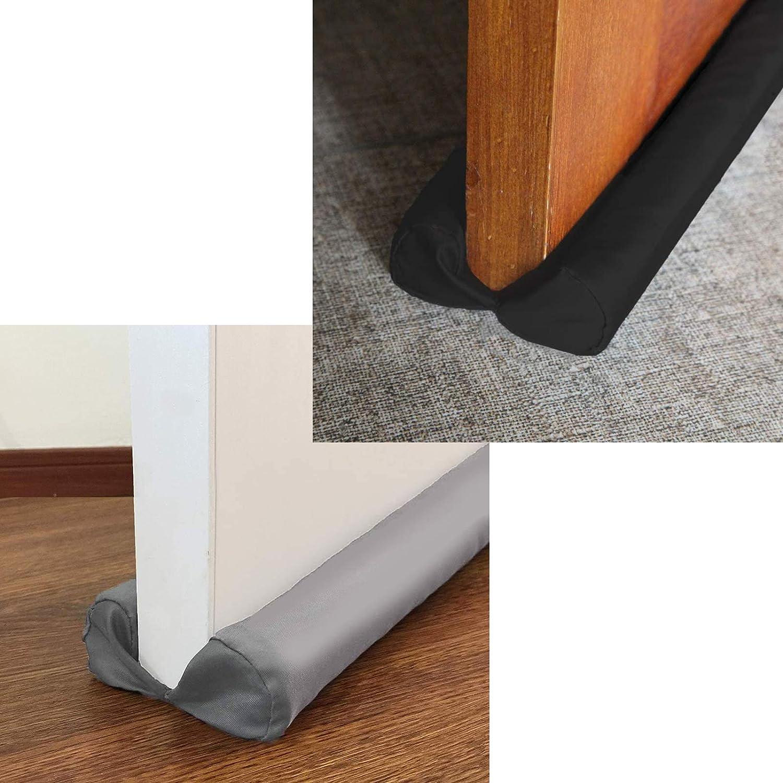 MAXTID Bombing new work Under Door Draft Blockers 2 Grey Front sale 32-38
