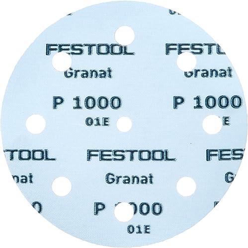 2021 Festool 497180 outlet sale Granat P1000 Grit Abrasives for Ets 125/Ro online 125 Sanders, 50-Pack outlet sale