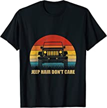 Funny Jeep Shirt. Jeep Hair Don't Care T-Shirt