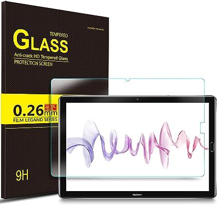 IVSO Huawei MediaPad M5 10.8 Pellicola Protettiva, Schermo in Vetro Temperato per Huawei MediaPad M5 10.8 Pro / M5 10.8 2018 Tablet (Tempered Glass - 1 Pack)