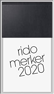 rido Tischkal. 2020 merker PVC schwarz