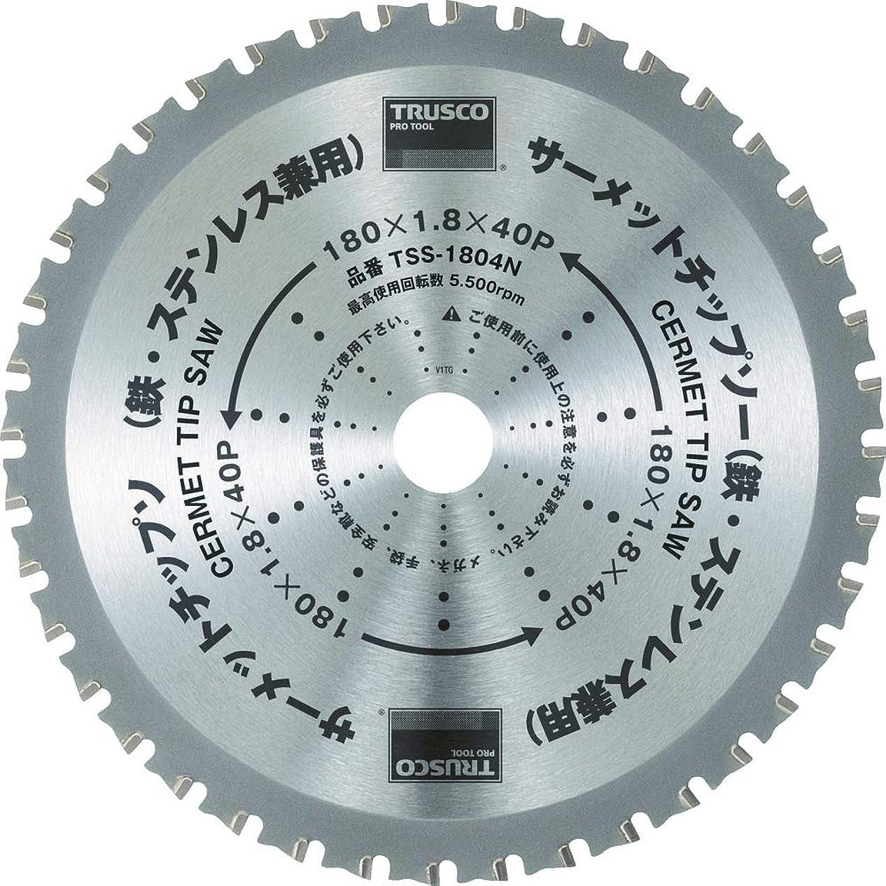 横向き副詞凶暴なTRUSCO(トラスコ) サーメットチップソー 160X34P TSS-16034N