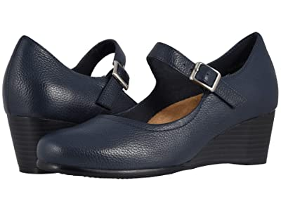 Trotters Willow (Navy Embossed) Women