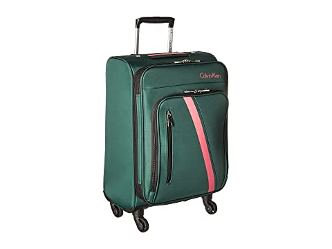"Ck-511 Crossbronx 19"" Upright Suitcase, Green"