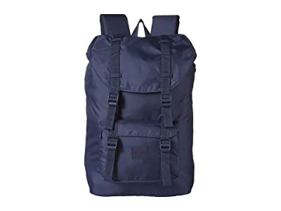 Herschel Supply Co. Little America Mid-Volume Light (Navy) Backpack Bags