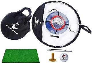 Opvouwbaar golfchipping-net set, drielaags opvouwbaar golfchiping-net oefennet set, golfset kinderen golfset