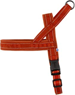 Hurtta Casual Padded Dog Harness, Cinnamon, 14 in