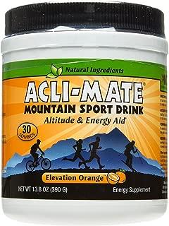 Acli-Mate Mountain Sport Drink, Orange, 11.1 Ounce