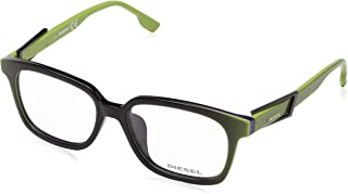 cd68e99d56ec Diesel Rx Eyeglasses Frames DL5111-F 095 55-17-150 Black Lime