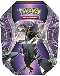 Pokemon TCG: Sun & Moon Burning Shadows Collector`s Tin Containing 4 Booster Packs and Featuring A Foil Necrozma GX