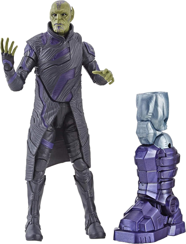Marvel Captain Marvel Legends Talos Skrull Figur, 20 cm Amazon.de ...