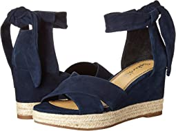 Navy Kid Suede