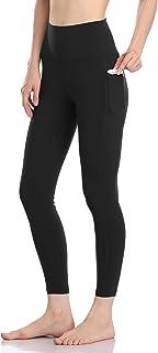 Women's High Waisted Yoga Pants 7/8 Length Leggings with...