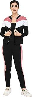 Zielen Women's Full Sleeve Zipper Tracksuits