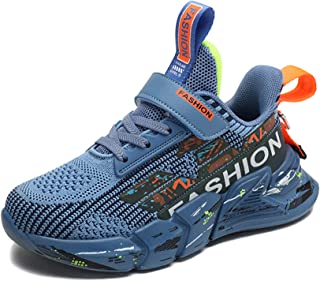SMajong Chaussures de Sport Enfant Baskets Mode Garçon Fille Léger Respirantes ChaussuresdeTennis Antidérapant Outdoor S...