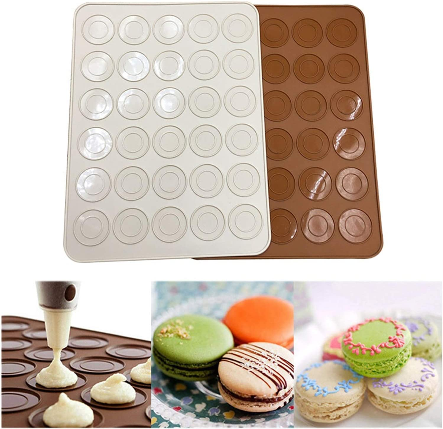Mould Silicone Same day shipping Pastry Oven Baking Max 65% OFF Sheet Mat 30-Cavity DIY